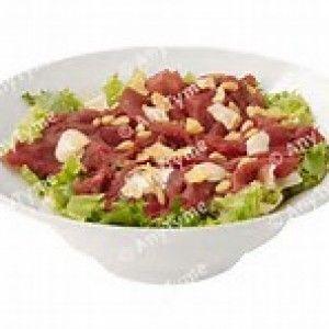 salade met carpaccio